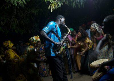 A wedding ceremony. Serekunda, The Gambia 2016