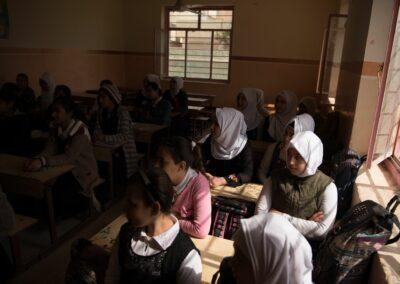 Students during school. Baiji, February 2019.