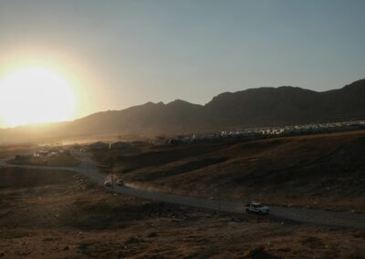 One of the refugee camps for displaced Yazidis. Dohuk, June 2018.
